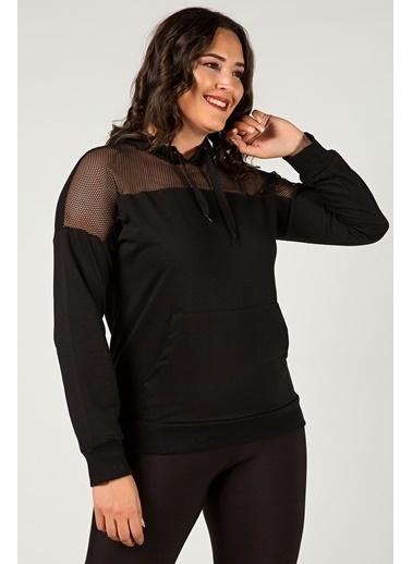Womenice Bluz Siyah